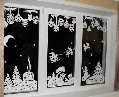 """""""Галка"""" рекомендує: Новорічні витинанки – шаблони для вікон (ФОТО)"""