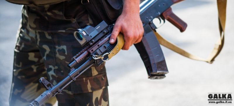 На Прикарпаття прибув 109-й батальйон Збройних сил України (ВІДЕО)