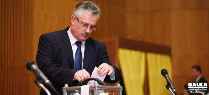 Як депутати голосували за голову обласної ради (ФОТО)