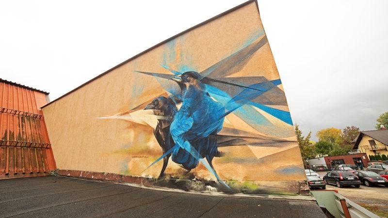 Майстри графіті з Франківська розмалюють дитячу лікарню у Львові