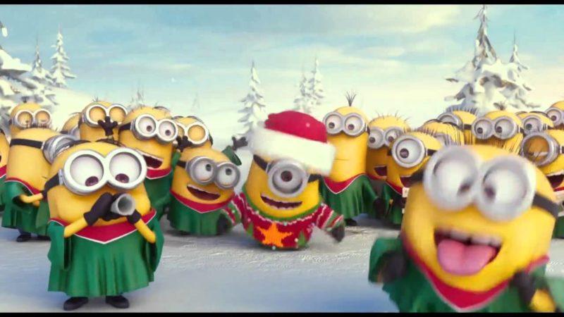 Чарівна різдвяна пісня від міньйонів (ВІДЕО)