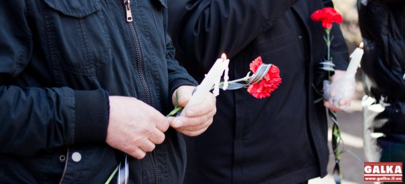 У Франківську вшанували пам'ять учасників війни в Афганістані (ФОТО)