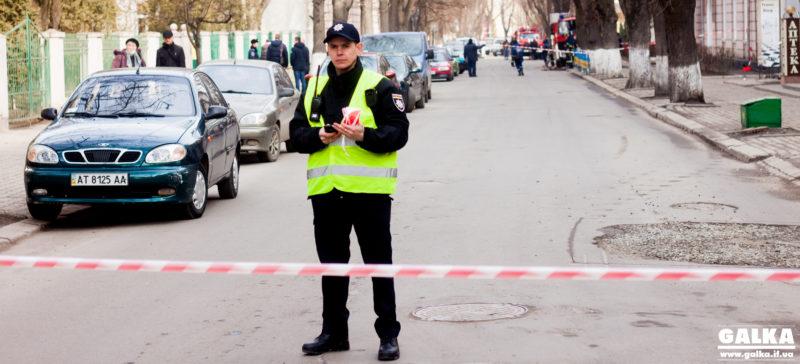 Як у франківських школах евакуацію проводили і вибухівку шукали (ФОТОРЕПОРТАЖ)