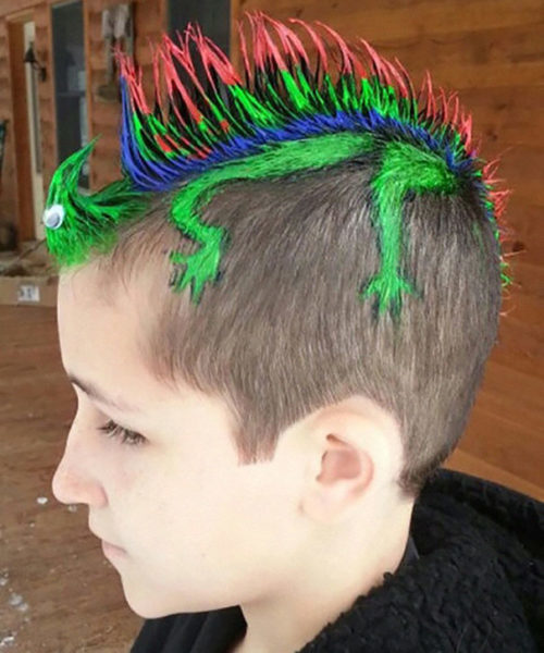 Найбожевільніші та найнепередбачуваніші дитячі зачіски (ФОТО)