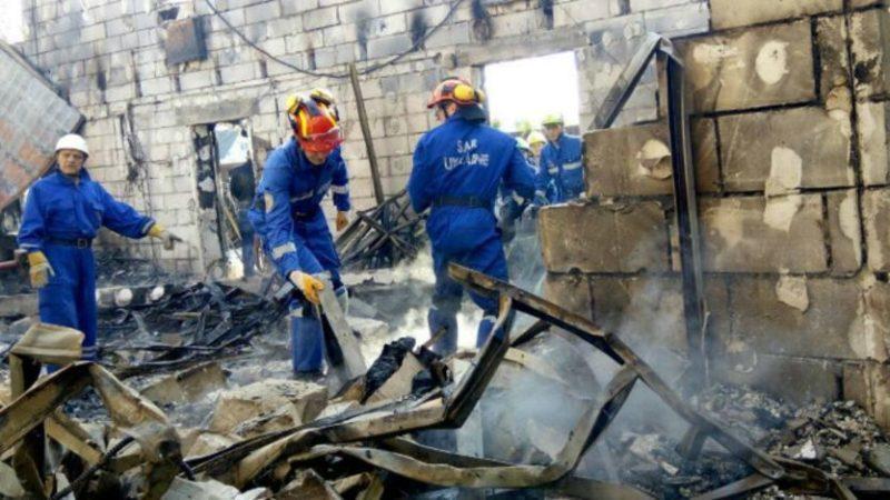 На Київщині горів приватний будинок для літніх людей, 17 осіб загинуло