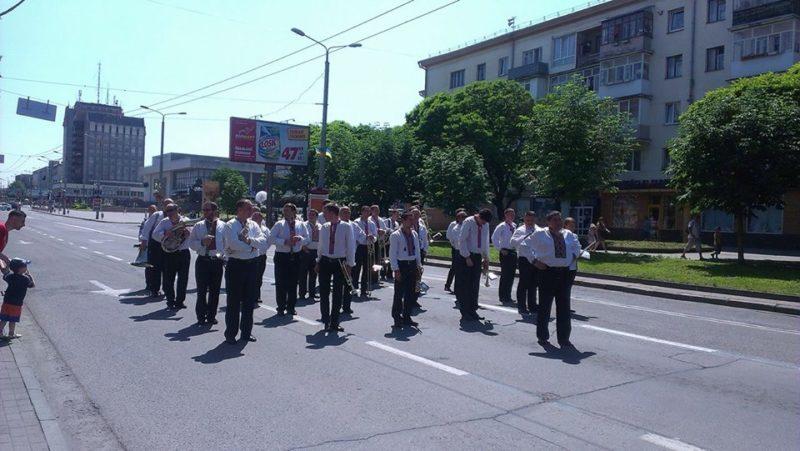 Франківськом пройшов парад оркестрів (ФОТО, ВІДЕО)