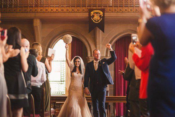 """""""Гаррі Поттер"""" і британське весілля (ФОТО)"""
