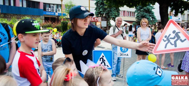Поліція, діти, дорожні знаки, зброя, навчання-9478-2