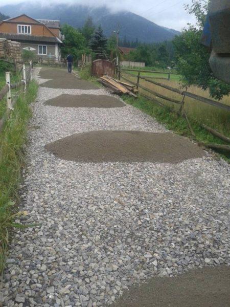Мешканці прикарпатського села відмовилися від традиційного асфальтування дороги (ФОТО)