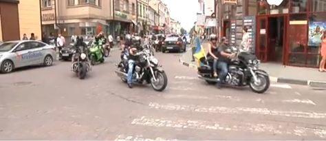 Байкери їдуть від Карпат до Чонгару в підтримку української єдності (ВІДЕО)