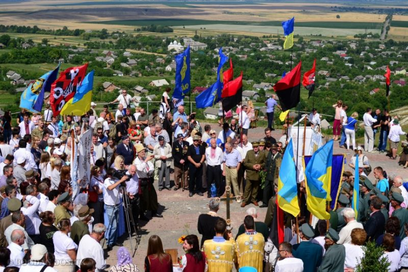 """Ветерани дивізії """"Галичина"""" вшанували загиблих побратимів (ФОТО)"""