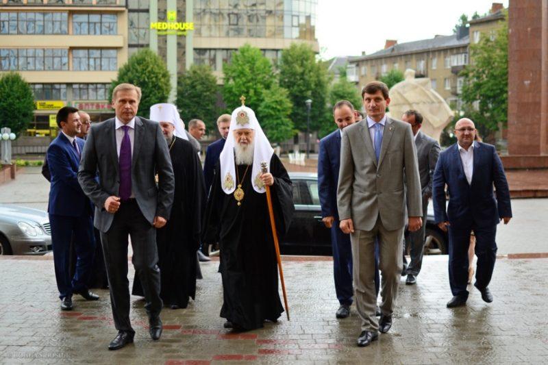 """""""Якби у нас була єдина православна церква, можливо б, і війни не було б"""", – Філарет на Прикарпатті (ФОТО)"""