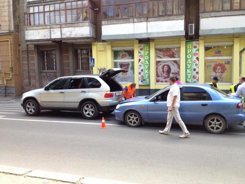 На Гаркуші не розминулися BMW та Lanos (ФОТО)