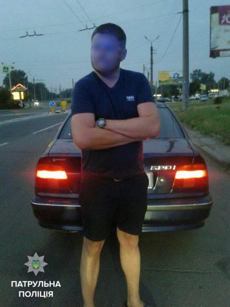 На одного нетверезого водія патрульні склали два протоколи
