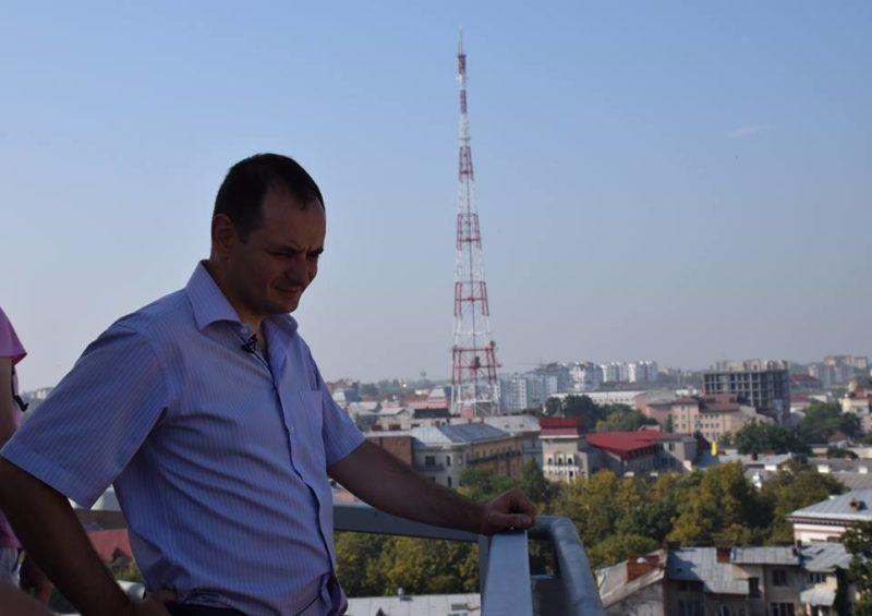 Марцінків перевірив, чи готовий оглядовий майданчик на Ратуші до прийому туристів (ФОТО)