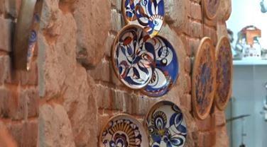 У Франківську відкрилась виставка декоративних тарелів (ВІДЕО)