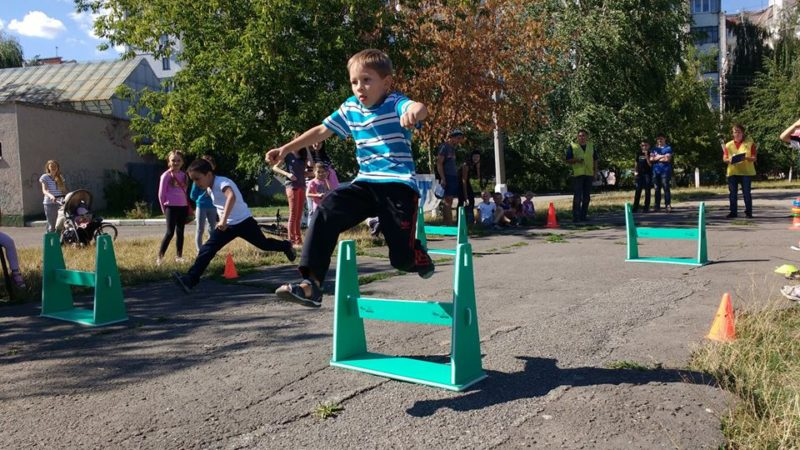 На Каскаді для школярів провели спортивні змагання (ФОТО)