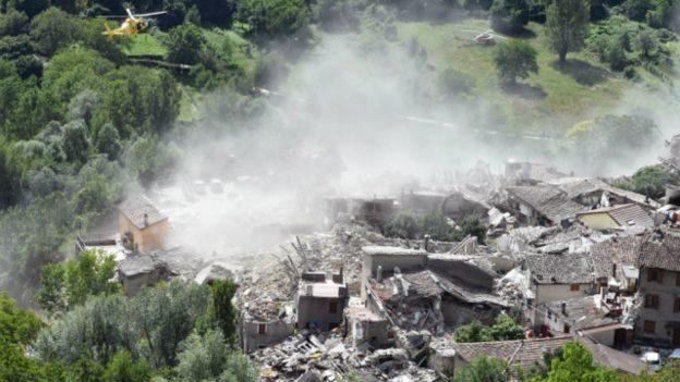 Збитки на 4 млрд євро завдав землетрус в Італії