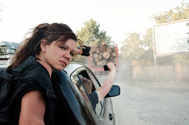Руслана показує українцям зрубані Карпати (ФОТО+ВІДЕО)