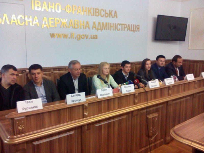 У Франківську вітали призерів чемпіонату світу з вільної боротьби (ФОТОФАКТ)