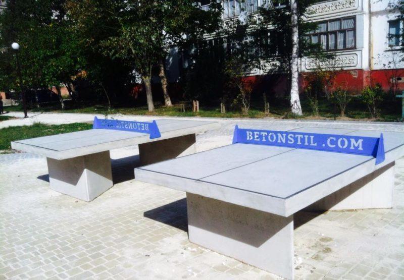 Тенісні столи з'явилися на вулиці Симоненка (ФОТО)