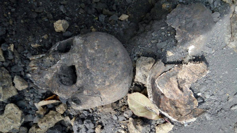 У сільраді Вовчинцях кажуть, що на місці знахідки людських рештків кладовища не було