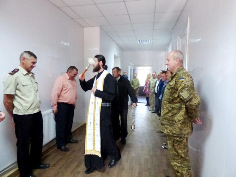 Тлумацький військкомат переїхав у відремонтоване приміщення (ФОТО)