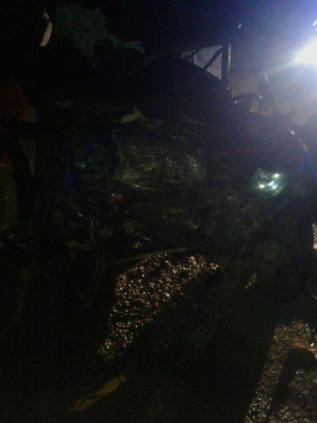 Нічна катастрофа на Надвірнянщині: загинули двоє людей (ФОТО)