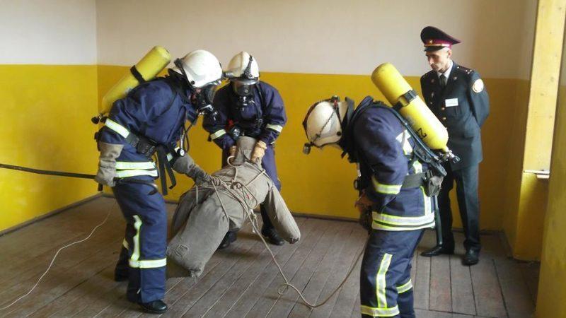 У Франківську визначали найкращих пожежників області (ФОТО)
