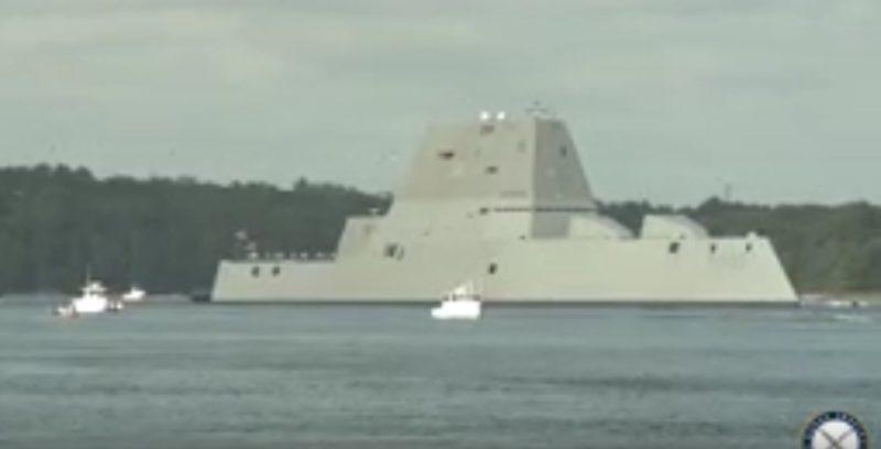 У США став до ладу військовий корабель майбутнього