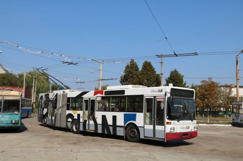 У березні на вулицях міста можуть з'явитися ще чотири нові тролейбуси