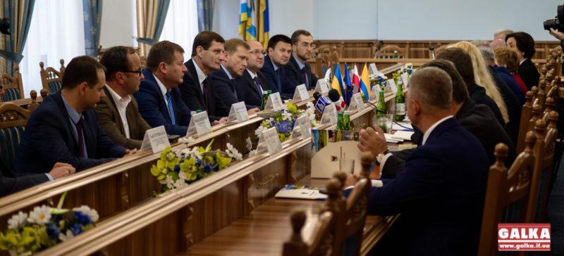 Делегація Опольського воєводства завітала на Франківщину в честь п'ятнадцятої річниці співпраці (ФОТО)