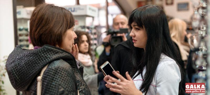 Іванофранківцям безкоштовно перевіряють зір (ФОТО)