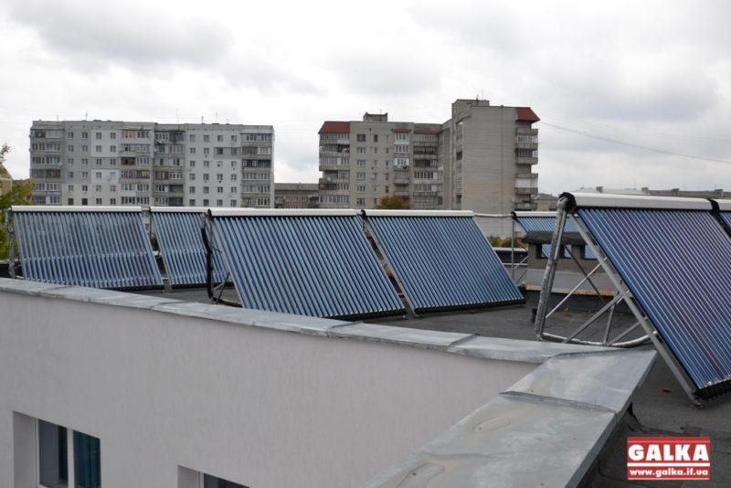 У долинському дитсадку гріють воду сонячними батареями (ФОТО)