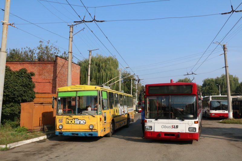 Нові тролейбуси почнуть курсувати Франківськом вже цього тижня