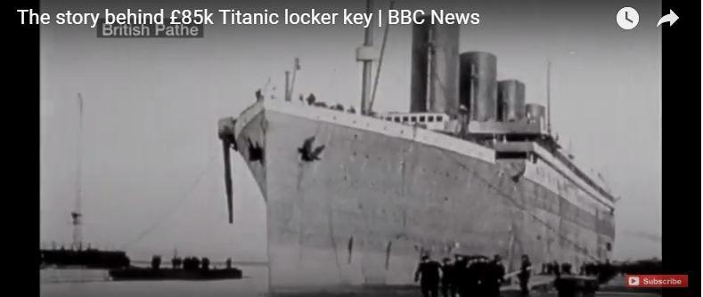 """Ключ до дверей """"Титаніка"""" пішов з аукціону за $ 100 000 (ВІДЕО)"""
