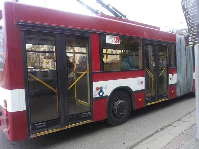 В Угриневі ставсяобрив мережі – тролейбус №4 тимчасово не їздить