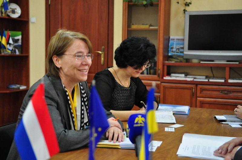 Заступниця посла Королівства Нідерландів в Україні відвідала Івано-Франківськ (ФОТОФАКТ)