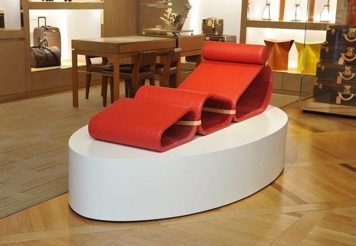 Louis Vuitton представив стильні меблі для мандрівників (ФОТО)