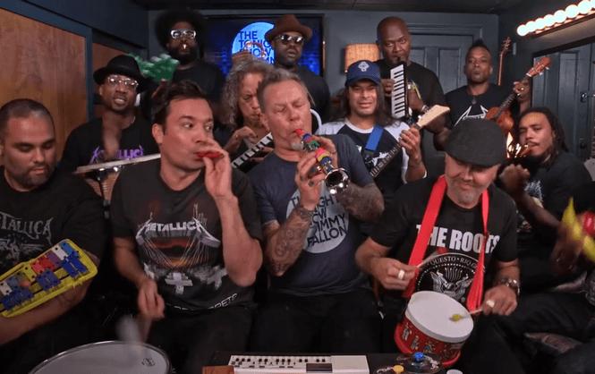 Metallica зіграла свій хіт на іграшкових інструментах (ВІДЕО)