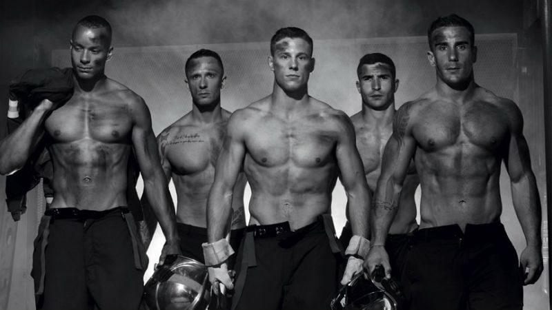 Справжні пожежники знялись в еротичній фотосесії (ФОТО)