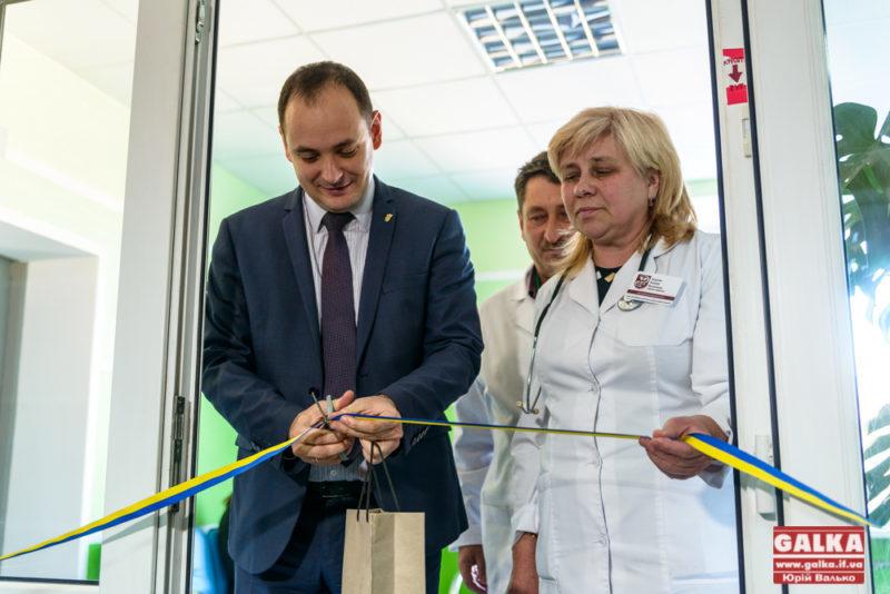 У Франківській центральній лікарні відремонтувати ще одне відділення (ФОТО)