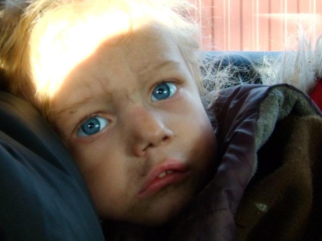 У Коломиї в матері забрали трирічну доньку (ВІДЕО)