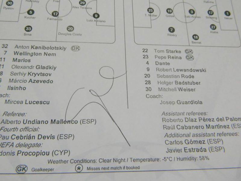 Дитячий тренер продає автограф Гвардіоли, аби юні футболісти змогли поїхати на турнір