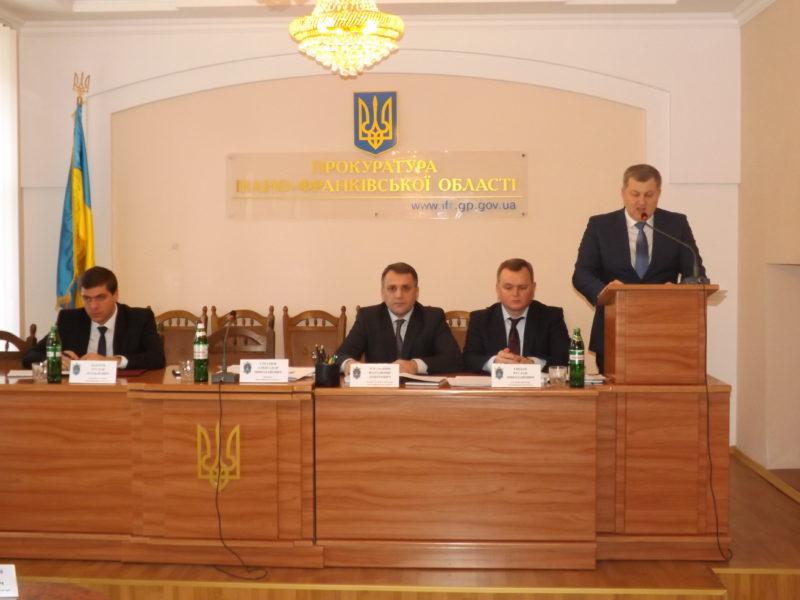 Рівень розкриття правопорушень на Прикарпатті один з найвищих в Україні, – Стратюк