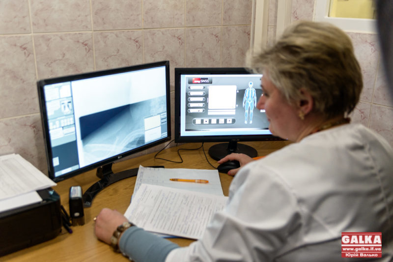 У франківській клініці відкрили новий рентгенкабінет (ФОТО)