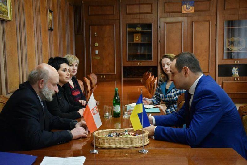 До Франківська приїхала партнерська делегація з Варшави (ФОТО)