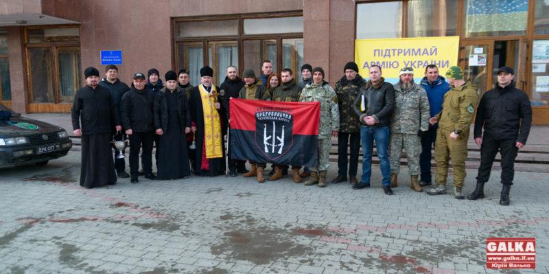 З Івано-Франківська в зону АТО відправилися семеро добровольців (ФОТО)