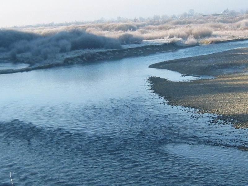 У мережі з'явилося неймовірне відео, як виглядає річка на Прикарпатті взимку