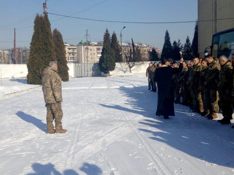 У Франківську відбулися проводи резервістів на збори